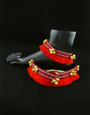 Exclusive Collection of Oxidised Payal Online at Best Price.