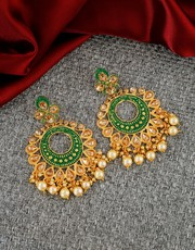 An Exclusive collection of Chandbali Online at Best Price.