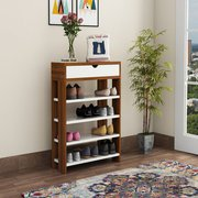 Adore the space with Shoe rack with seat online at WoodenStreet